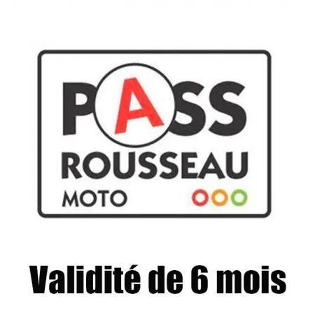 pass rousseau valide 6 mois
