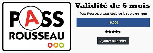 pass rousseau +cours +6 mois