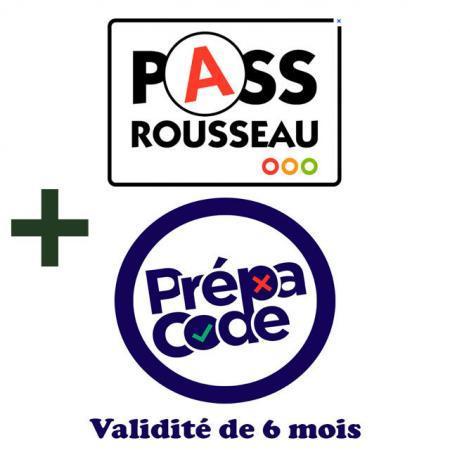 Pass Rousseau + PrepaCode valide 6 mois